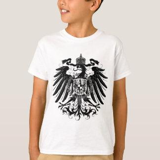 Eagle prusiano negro playera
