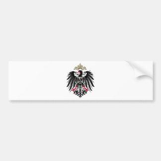 Eagle prusiano pegatina de parachoque