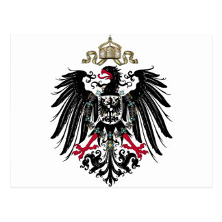 Eagle prusiano tarjetas postales