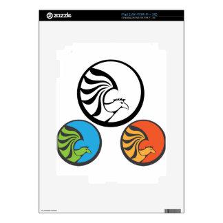 Eagle Punk Icon iPad 2 Decal