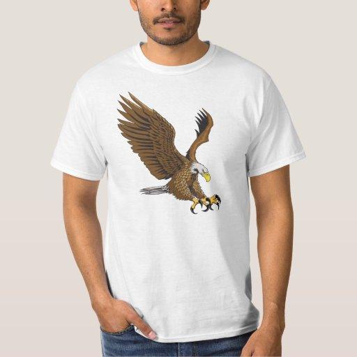 Eagle que ataca playera