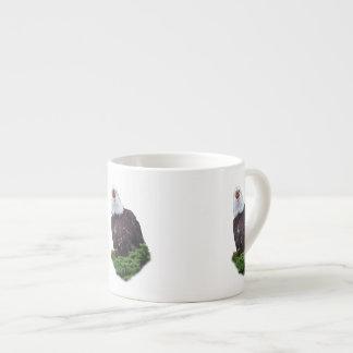 Eagle que grita taza espresso