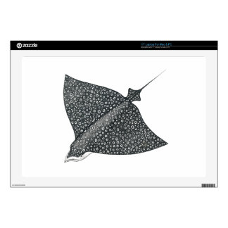 """Eagle Ray 17"""" Laptop Decal"""