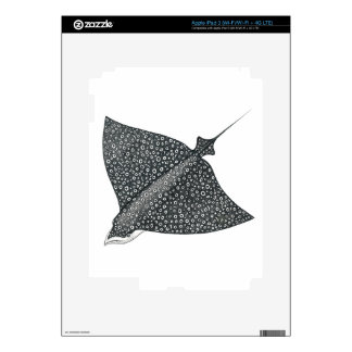 Eagle Ray iPad 3 Decal