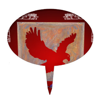 EAGLE RED CUSTOMIZABLE PRODUCTS CAKE TOPPERS