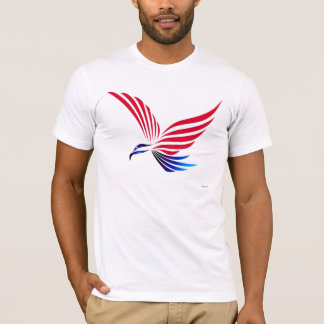 Eagle red white blue T-Shirt