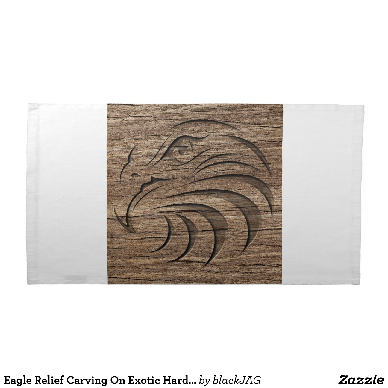 Eagle relief carving on exotic hardwood cloth napkin zazzle