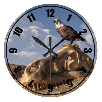 Eagle Rex Reloj Redondo Grande