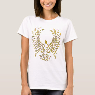 eagle rising, gold T-Shirt