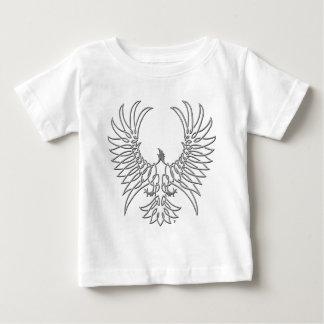 eagle rising, silver baby T-Shirt