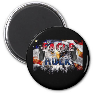 Eagle Rock2 2 Inch Round Magnet