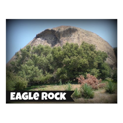 Eagle Rock, California Postcard