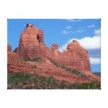 Eagle Rock I Sedona Arizona Travel Photography Canvas Print