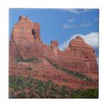 Eagle Rock I Sedona Arizona Travel Photography Ceramic Tile