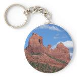 Eagle Rock I Sedona Arizona Travel Photography Keychain