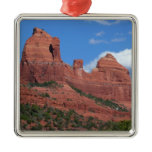 Eagle Rock I Sedona Arizona Travel Photography Metal Ornament