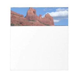 Eagle Rock I Sedona Arizona Travel Photography Note Pad