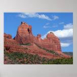 Eagle Rock I Sedona Arizona Travel Photography Poster