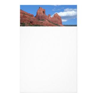 Eagle Rock I Sedona Arizona Travel Photography Stationery