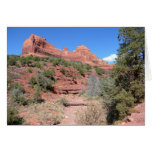 Eagle Rock II Sedona Arizona Travel Photography Card