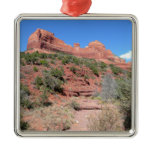 Eagle Rock II Sedona Arizona Travel Photography Metal Ornament