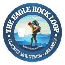 Eagle Rock Loop Trail Classic Round Sticker