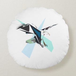 eagle round pillow