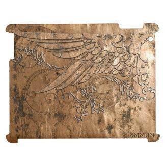 Eagle sabio equipó el iPad de cobre de la impresió