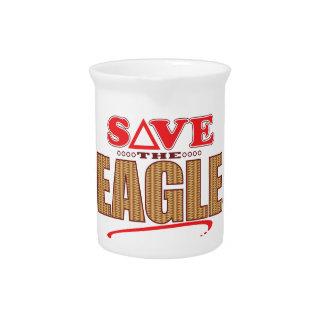 Eagle Save Beverage Pitcher