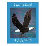 Eagle Save The Date Postcard