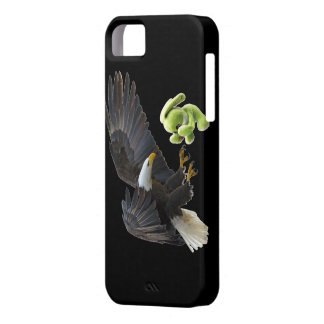 Eagle scares to a teddy iPhone SE/5/5s case