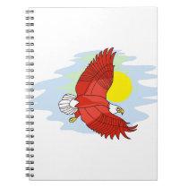 Eagle Scene Notebook