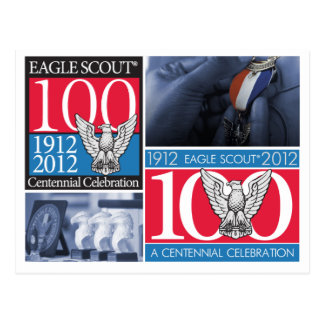 Eagle Scout Centennial Post Card