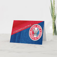 graphic relating to Eagle Scout Congratulations Card Printable referred to as Eagle Scout Playing cards Zazzle
