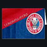 "Eagle Scout Congratulation Card<br><div class=""desc"">Boy Scouts of America,  Eagle Scout Congratulation Card</div>"