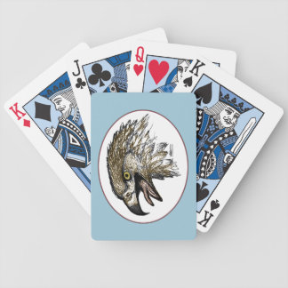 Eagle Screaming Bicycle Playing Cards