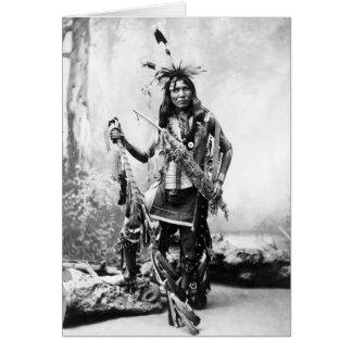 Eagle Shirt (Sioux) Greeting Card