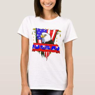 Eagle Side USA Banner T-Shirt