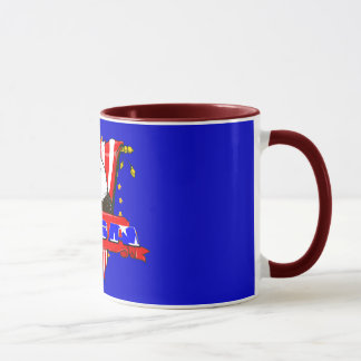 Eagle Side USA Coffee Mug
