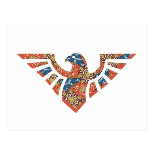 Eagle Silhouette 08 Post Card