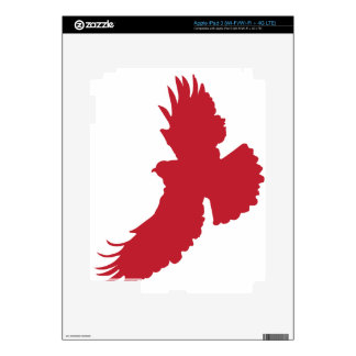Eagle Silhouette Decals For iPad 3