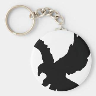 Eagle Silhouette Keychain