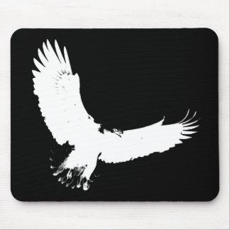 Eagle Silhouette Mouse Pad