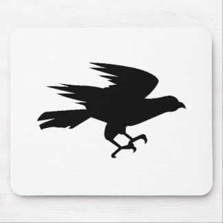 Eagle Silhouette Mouse Pads