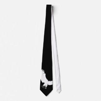 Eagle Silhouette Neck Tie
