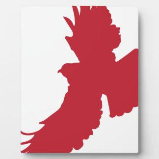 Eagle Silhouette Plaque