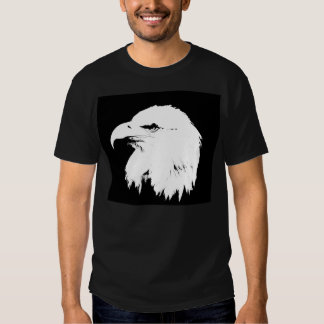 Eagle silhouette t shirts