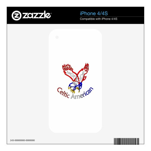 Eagle Skins Para eliPhone 4