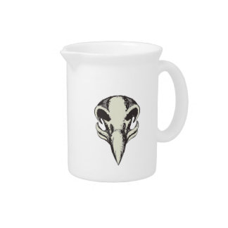 Eagle Skull Retro Drink Pitcher