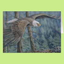 Eagle Soaring Card